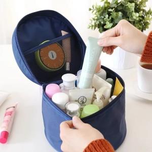 New Tas Kosmetik Serbaguna Tas Travel Kosmetik Biru Diskon Tokopedia