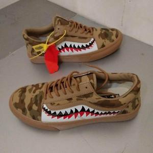 Sepatu Vans Bape Army Tokopedia