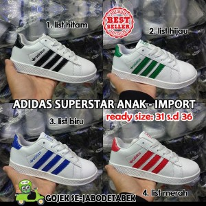Sepatu Adidas Superstar Anak Tokopedia