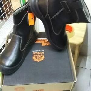 Sepatu Safety Kings Kwd 805 Cx Coklat Original Tokopedia