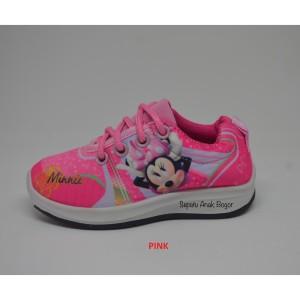 Sepatu Anak Perempuan Minnie Mouse Depan Milton Tokopedia