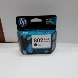 Tinta Hp 802 Black Small Tokopedia