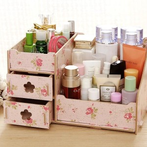 Hot Rkm25 Rak Kosmetik Mini Cosmetic Storage Mini Terlaris Tokopedia