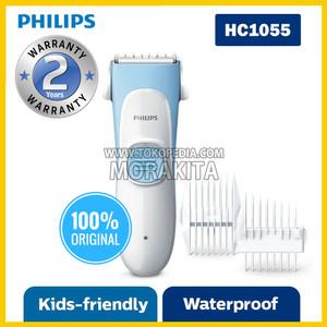 PHILIPS HC1055 KID FRIENDLY HAIR CLIPPER CUKUR RAMBUT ANAK HC 1055
