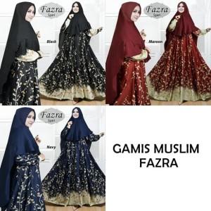 Gamis Syarii Baju Muslim Pesta Hijab Wanita Tokopedia