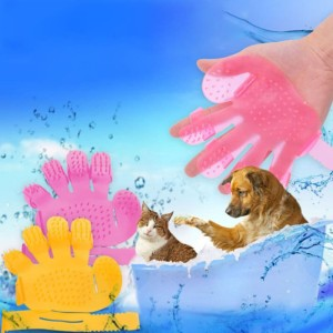 Jual Pet Bath Brush Sikat Sisir Mandi Hewan Anjing Kucing Grooming