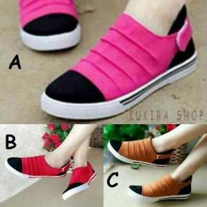 Sepatu Casual Wanita Sp6012 Tokopedia