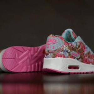 Jual Sepatu Sport Nike Airmax Air Max 90 Floral Pink Premium Murah f5b97229ae