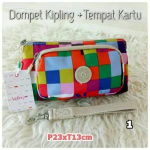 Promo Dompet Kipling Pouch Kosmetik Kipling Pencil Case Kipling Premium Tokopedia