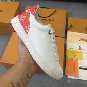 Jual Sepatu branded wanita cewek lv louis vuitton sneaker casual kw mirror 5400238072