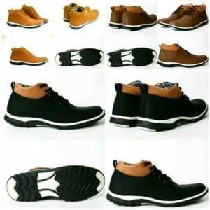 Sepatu Kulit Boots Pria Dalmo Power Brodo Tokopedia