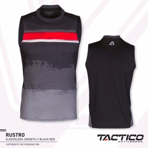 Kaos Singlet Olahraga Lari Gym Jogging Tactico Rusto Tokopedia