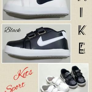 Sepatu Anak Laki Laki Perekat Ando Diva Light Velcro Hitam Tokopedia