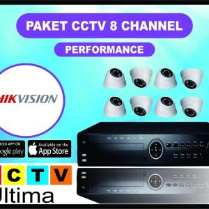 Paket Cctv 8 Channel 3 Mp Full Hd Paket 8 Kamera 3mp Tokopedia