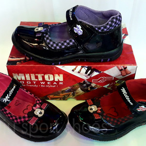 Sepatu Anak Perempuan Minnie Mouse Samping Milton Tokopedia