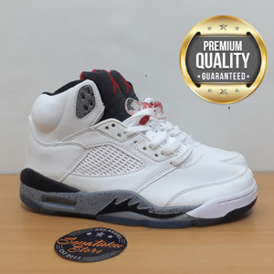 Sepatu Nike Air Jordan 5 Import Kids Anak Sekolah Kets Sneakers Tokopedia