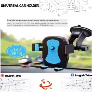 Holder Mobil Ac For Hp 4 Inch 6 5 Inch 360 Degree Tokopedia