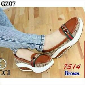 Sepatu Casual Cewek Gv101 Tokopedia