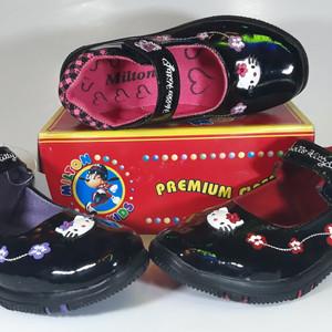 Sepatu Anak Perempuan Milton Kitty Samping Tokopedia