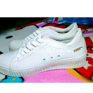 Sepatu Sneakers Kets Anak Rep Nike Airmax Hitam Putih Tali Tokopedia