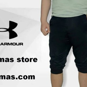 Celana Jogger pants underarmour training gym fitness cowok armour
