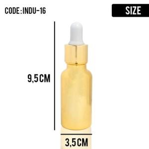 Botol Kosmetik Serum Gold 20 Ml Indu 16 Tokopedia