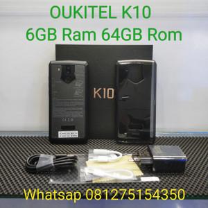 Oukitel K10 6gb Ram 64gb Baru Hp Outdoor Tokopedia
