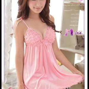 Baju Lingerie Pink Sexy Bagus Impor Tokopedia