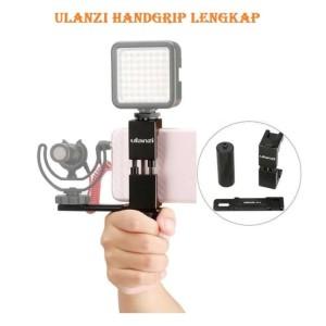 Ulanzi Smartphone Hand Grip Holder Smartphone Rig Tokopedia
