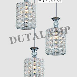 Lampu gantung minimalis kristal 8910/3