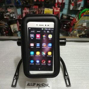 Paket Breket Holder Hp Nmax Holder Phone Waterproof Tokopedia