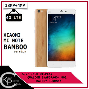 Mi Note Bamboo Ram 3gb Rom 16gb Garansi Distributor 1 Tahun Tokopedia
