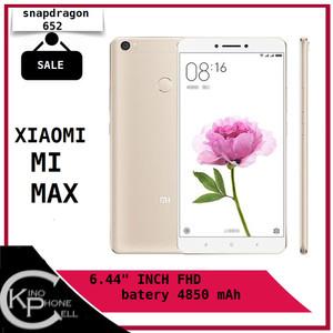 Xiaomi Mi Max 32gb Ram 3gb 4g Lte Garansi Tokopedia