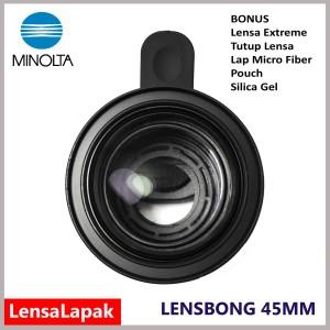 Lensbong Macro Minolta 45mm Lensa Kamera Prosumer Untuk Smartphone Handphone Hp Tokopedia