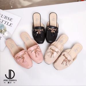 Jj sepatu wanita branded import sepatu flat shoes .