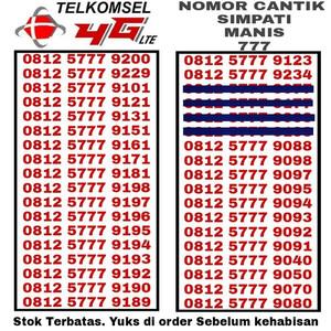 Jual Nomor Cantik Simpati Kartu Perdana No HP Telkomsel Indosat IM3 AS Loop