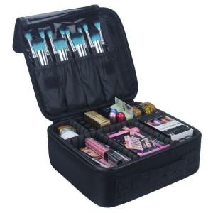 Tas Koper Makeup Kosmetik Multifungsi Hitam Tokopedia