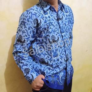Kemeja Pria Hem Batik Kemeja Murah Baju Pria Tokopedia