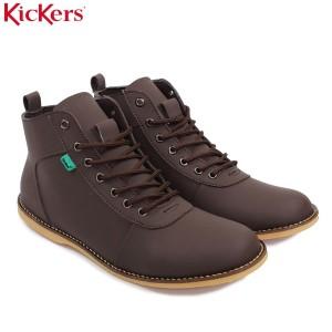 Sepatu Casual Kickers Brown Tokopedia