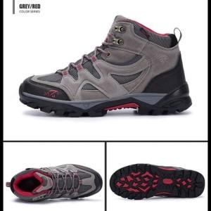 Sepatu Gunung Original Snta 491 Pria Sepatu Outdoor Sepatu Hiking Sepatu Climbing Gosend Tokopedia