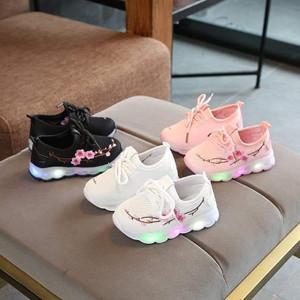 Sepatu Anak Shoes Sakura Sneakers Led Tokopedia