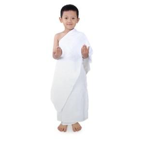 Baju Ihram Anak Untuk Manasik Haji Umrah Tokopedia