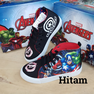 Sepatu Anak Laki Laki Spiderman Webhead Abu Abu Tokopedia