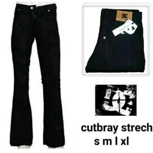 Celana Cutbray Pria Bahan Setreatch Tokopedia