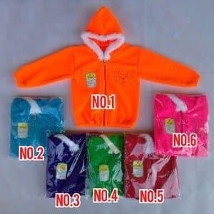 Baju Jaket Bayi Lembut Hangat Lucu Sleting Tokopedia
