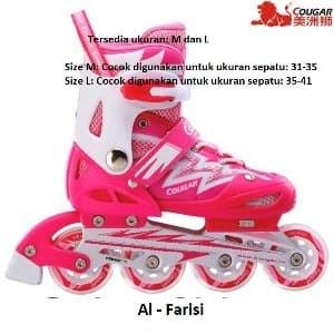 Sepatu Roda Cougar 4 Tokopedia