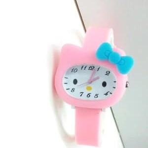 Jam Tangan Anak Timbul Hello Kitty Tokopedia