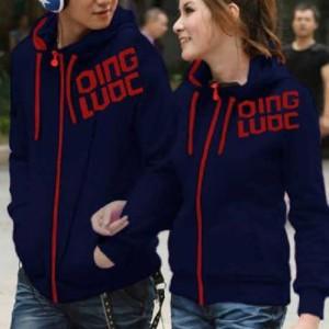 Jaket Qing Navy Couple Harga Sepasang Tokopedia