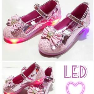 Sepatu Anak Perempuan Pesta Led Tokopedia