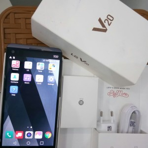 Lg V20 Snapdragon 820 Ram 4gb Internal64gb Fullset Sangat Muluss Tokopedia